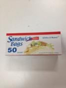3pk Sandwich Zipper Bags 50 Count