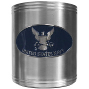 Siskiyou Gifts Navy Steel Can Cooler