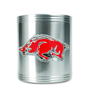 University of Arkansas Insulated Stainless Steel Can Cooler