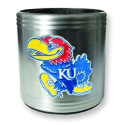 University of Kansas Insulated Stainless Steel Can Cooler