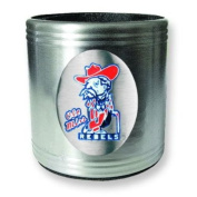 University of Mississippi Insulated Stainless Steel Can Cooler