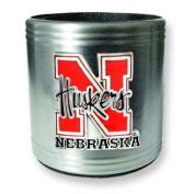 University of Nebraska Insulated Stainless Steel Can Cooler