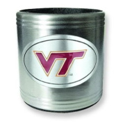 Virginia Tech University Insulated Stainless Steel Can Cooler