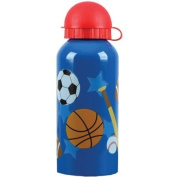 Stephen Joseph Stainless Steel Water Bottle, Sports