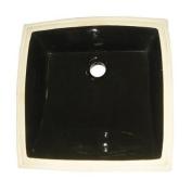 New - UNDERMOUNT BASIN, BLACK-Black Finish by Kingston Brass
