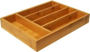 Island Bamboo FLTS Flatware Tray, Small, 35.6cm by 26.7cm