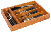 Home Basics CT01129 Pine Cutlery Tray,
