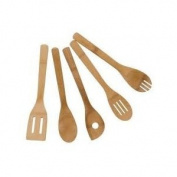 Mainstays 5pc Bamboo Kitchen Utensil Tool Set