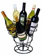Oenophilia 10065 Bottle Bouquet-6 Bottles in Black