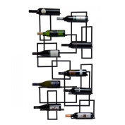 Oenophilia 10024 Mid Century 10 Bottle Wine Rack