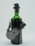 fabulous genunie hand-made elvis metal Wine bottle holder / caddy