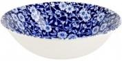 Burleigh Blue Calico Cereal Bowls 16.5cm