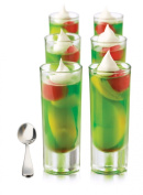 Libbey Just Desserts Parfait Glass with Minaiture Stainless Steel Spoon 25-Piece