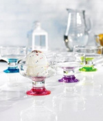 Style Setter Spectrum Assorted Dessert Bowl/Cup, Set of 4