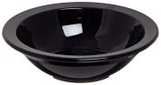 Carlisle PCD30503 Long-Life Polycarbonate Rimmed Fruit Bowl, 150ml, Black