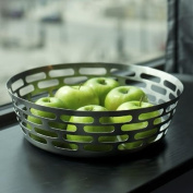 SteelForme Brushed 30.5cm Stainless Steel Round Fruit Bowl