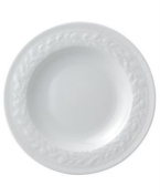 Bernardaud Louvre White Rim Soup Bowl