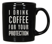 Primitives by Kathy - Box Sign Mug - I DRINK COFFEE
