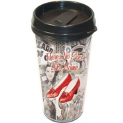 Wizard of Oz There's No Place Like Home Plastic Travel Mug