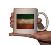 15oz. Coffee Mug - Grunge Irish Flag - Great for St. Patrick's Day!