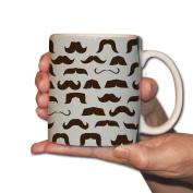 Design Coffee Mug - Moustache - 440ml