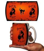 Halloween Coffee Mug - Drink Up Witches! - 440ml