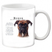 """Boxer """"UnCropped"""" 330ml Coffee Mug-Tranier"""