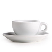 Nuova Point Sorrento Collection Set of 6 Espresso Cups in White
