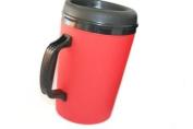 34 Oz Thermoserv Foam Insulated Coffee Mug- Red