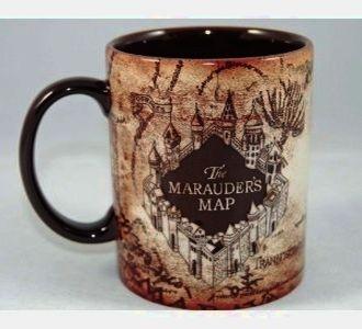 World Of Wizarding Potter Ceramic Mug Marauder's Map Harry IEH2WD9