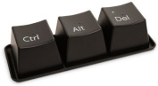 Three Finger Salute to Coffee Breaks !!! Ctrl-Alt-Delete CUP SET !!! NEW !!!