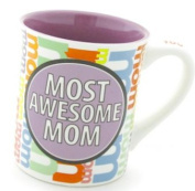 Enesco Our Name is Mud by Lorrie Veasey 470ml Most Awesome Mom Mug, 11.4cm