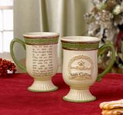 Grasslands Road Celebrating HeritageFriendship Loyalty Love Celtic Knot Claddagh Symbol Irish Coffee Mug