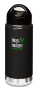 Klean Kanteen Wide Mouth Insulated Bottle (Stainless Loop Cap) - Albatrosse Grey 470ml