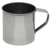 Lindys 5M012 12 oz. Polished Stainless Steel Drinking Cup