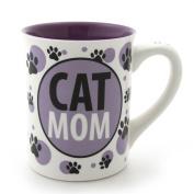 Enesco Our Name is Mud Cat Mom Mug, 11.4cm