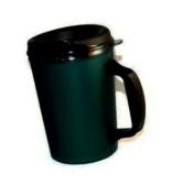 20 oz ThermoServ Foam Insulated Coffee Mug- Green