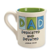 """Our Name Is Mud """" Dedicated and Devoted Dad Mug"""