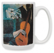 Picasso - The Old Guitarist 440ml Ceramic Coffee Mug