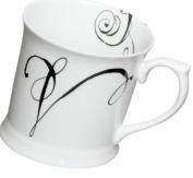 Rosanna Initially Yours Mug Letter V