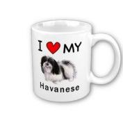 I Love My Havanese Coffee Mug
