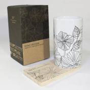SYNC - [Lotus Leaves] Graphic Mug / Wood Coaster - No Handle