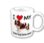 I Love My Cavalier King Charles Spaniel Coffee Mug