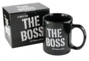 THE BOSS and always will be! - Boxed Ceramic Coffee Mug