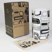 SYNC - [Brick] Graphic Mug w/ Wood Coaster - No Handle