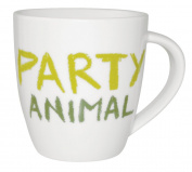 "Churchill China's Jamie Oliver ""Party Animal"" Cheeky Mug, 350ml Capacity"