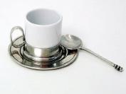 Arte Italica Caffe Espresso Cup & Saucer with Spoon