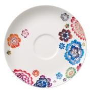 Villeroy & Boch 1044401250 17 cm Anmut Bloom Saucer Breakfast Cup