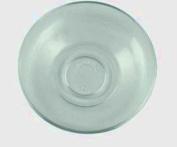 Aida Tea Glass Saucers 'Plain'