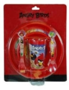 5-piece Angry Birds Toddler Dinnerware Set